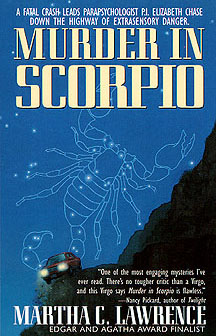 The paperback version of 'Murder In Scorpio'